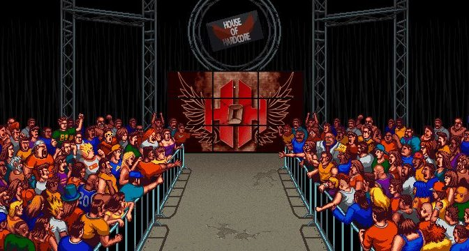 Retro Pro Wrestling Video Game Captures Iconic Look With Modern Performers