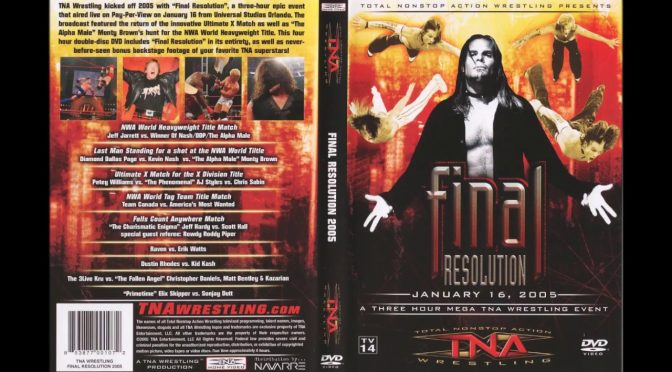 Final Resolution 2005 Review – Making an IMPACT