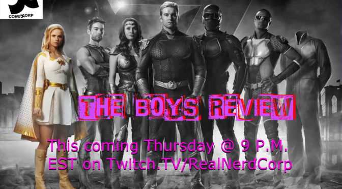 This Thursday ComicCorp Reviews The Boys