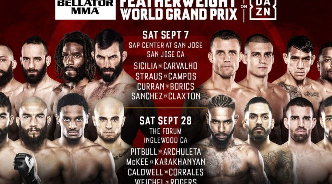 Bellator's Featherweight Grand Prix Might Be It's Best Offering Yet
