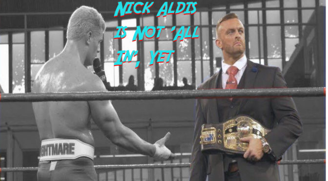 Nick Aldis Rejects AEW