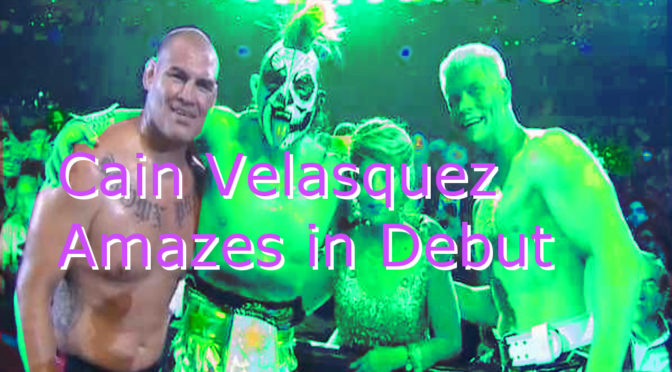 Cain Velasquez Has Found His Second Career