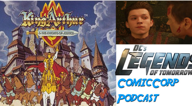 Spider-Man SONY Bound and Knights of Justice – ComicCorp Podcast
