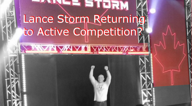 Lance Storm Closing Training School to Return to Wrestling