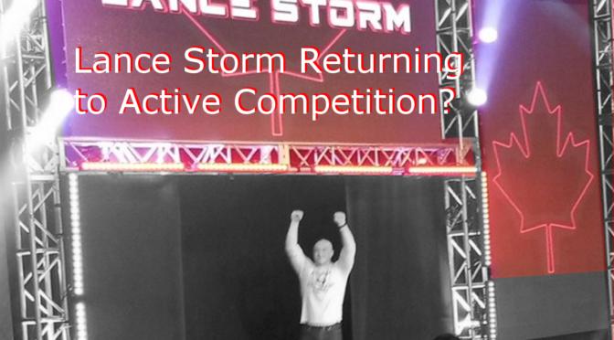 Lance Storm Closing Training School to Return to Wrestling