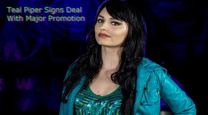 Teal Piper Signs With Major Promotion
