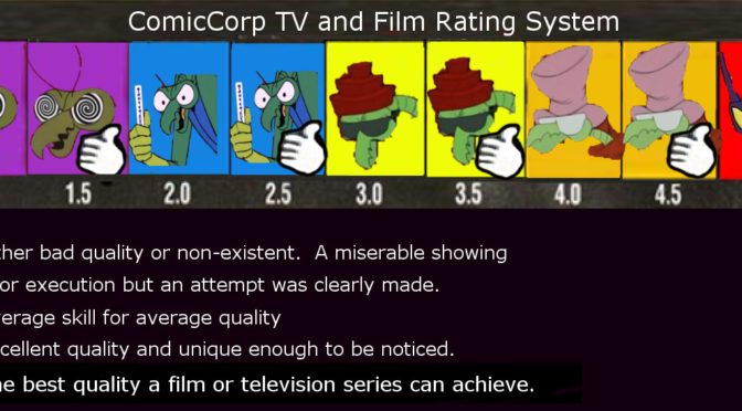 ComicCorp TV and Film Ratings