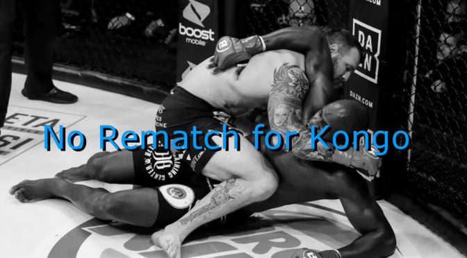 Cheick Kongo Doesn't Deserve a Rematch