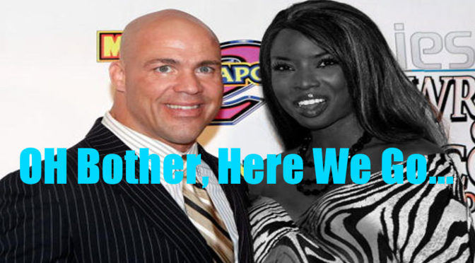 Kurt Angle's Ex is Wanted by the Police