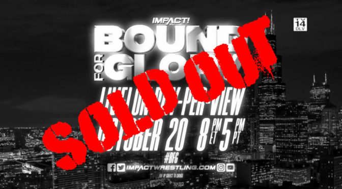 Bound for Glory's Sellout is No Small Feat