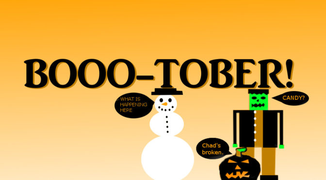It's Booo-tober Month!