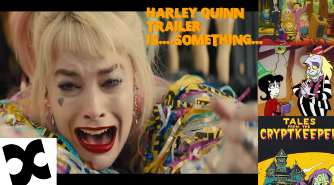 Reviewing the Harley Quinn Trailer and More! – ComicCorp Podcast