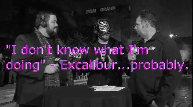 Excalibur is the problem for AEW's commentary, not Jim Ross