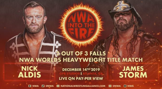 The last NWA Powerr before Into The Fire – Wrestling Underground