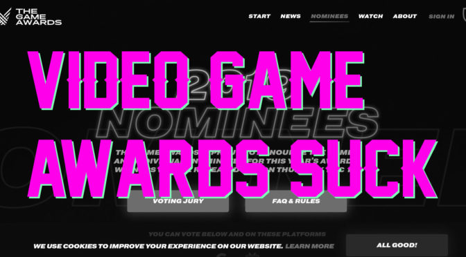 Video Game Awards Suck – GameCorp Podcast