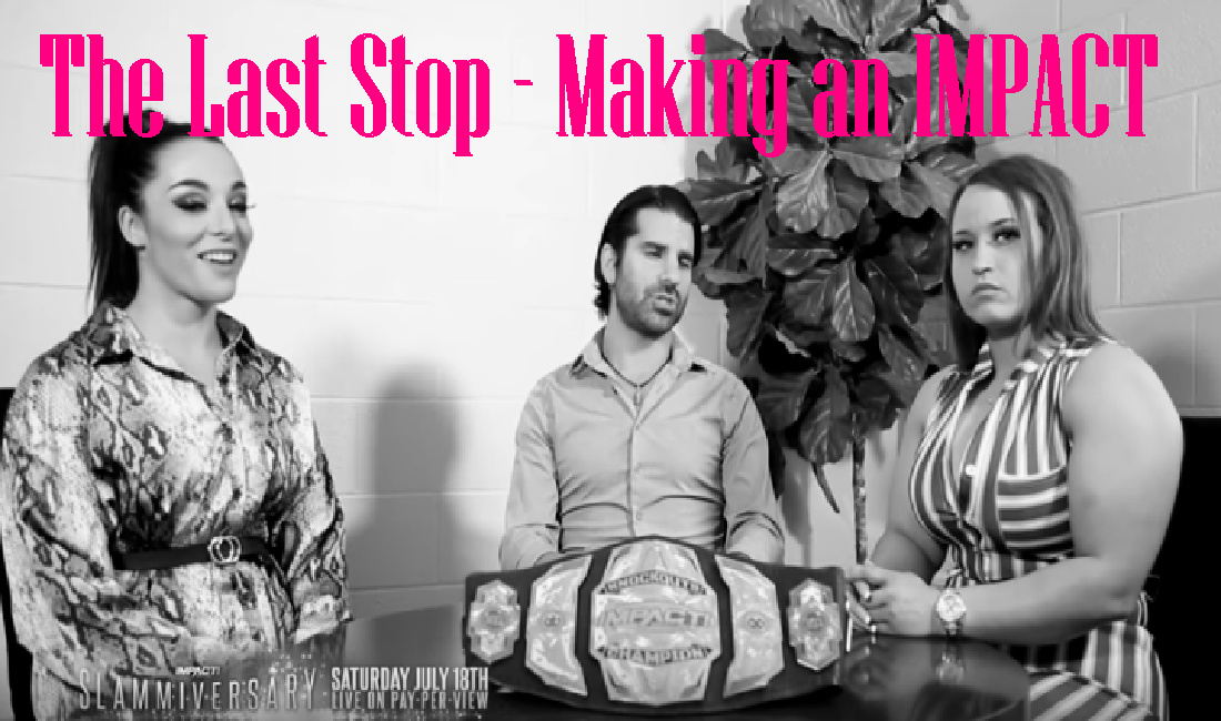 The last stop before Slammiversary – Making an IMPACT Podcast