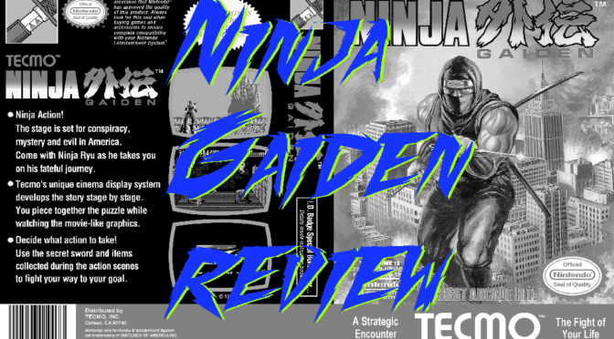 Ninja Gaiden and no fun in the cab – GameCorp Podcast
