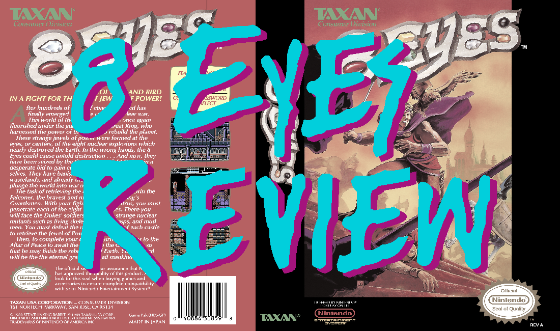 8 Eyes (NES)  – GameCorp review