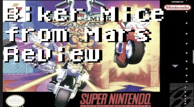 Biker Mice From Mars SNES Review – GameCorp Reviews