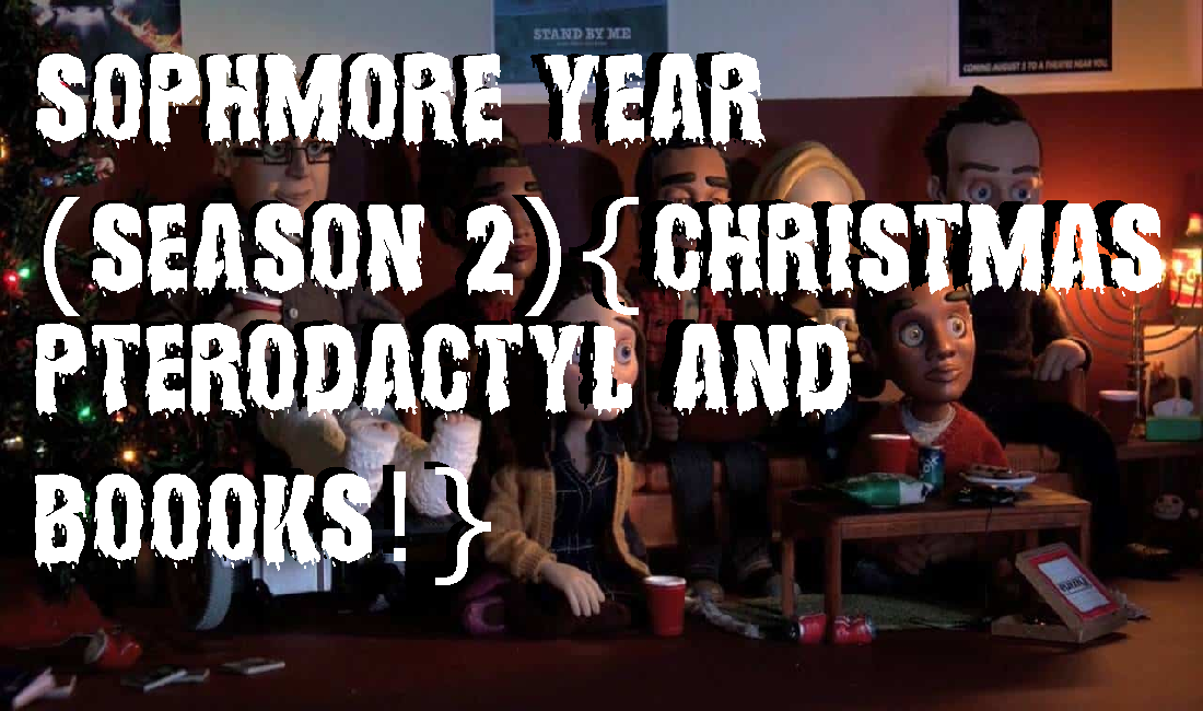 Sophmore Year (Season 2){Christmas Pterodactyl and BOOOKS!} – Chad and Swisher do a (Community) Podcast!