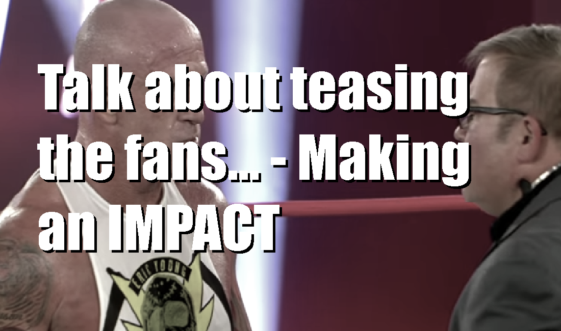 Eddie Edwards gets his shot but will it matter? – Making an IMPACT (Podcast)