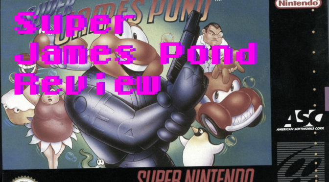 James Pond SNES Review – GameCorp Retro Review