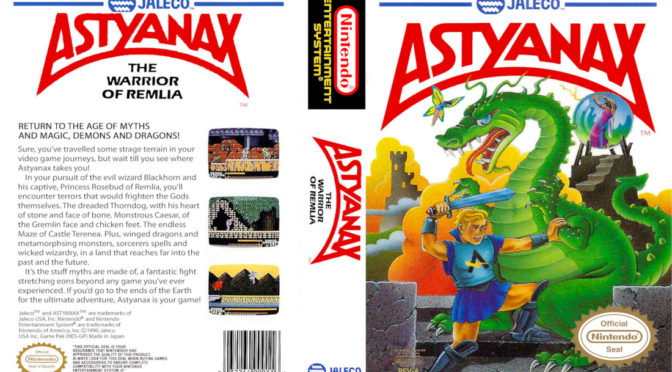 Astyanax (NES) – GameCorp Reviews