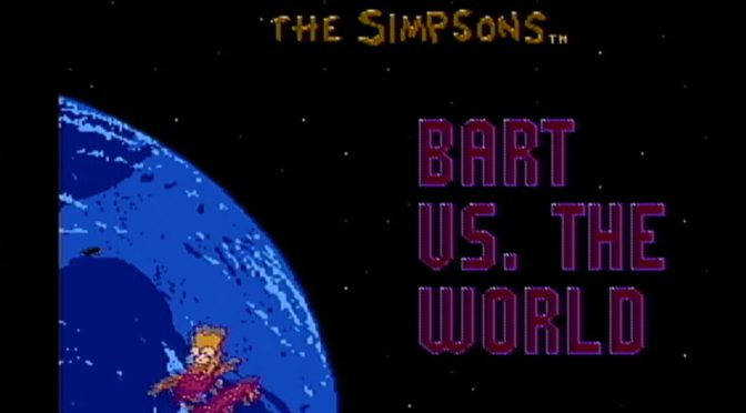 Bart vs. The World – GameCorp Retro Review